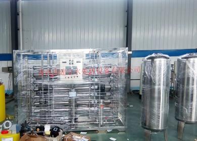 2吨全不锈钢双级反渗透设备